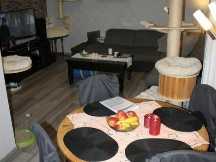Mayence Immobilien: Schöne 2 Zimmerwohnung mit Loggia! Garten zur Mitnutzung! PKW-Außenstellplatz!