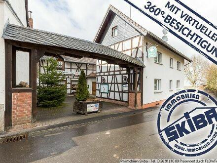 Viele Nutzungsmöglichkeiten - derzeit Gaststätte + Pension im Erholungsort Ramersbach
