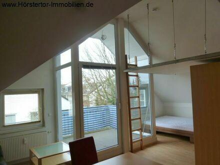 Wolbeck: möbliertes Top-Appartement mit Loggia u. TG-Platz!