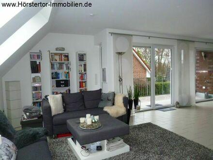 Aaseenähe. individuelle 3,5 Zi-Maisonette-Wohnung mit Balkon im KfW60 Haus