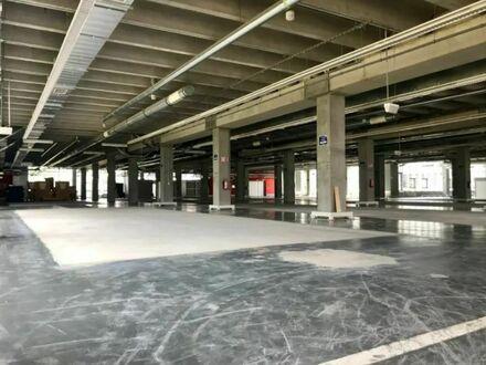 Lager-/Produktionshalle, ca. 6.840 m², teilbar ab 2.430 m², in 60386 Frankfurt-Ost zu vermieten