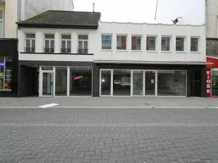 Provisionsfrei! Topsaniertes Ladenlokal mit großem Innenhof in bester Einkaufslage