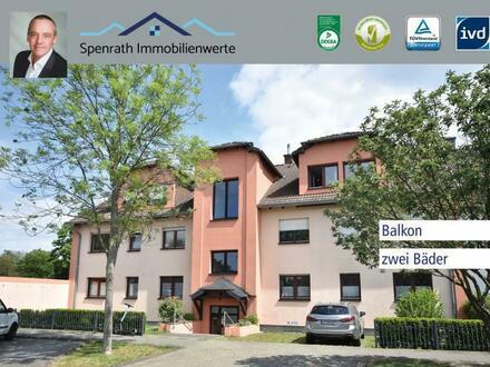 Helle 3 Zimmer , Zwei Bäder, Balkon, Für Familien oder als Kapitalanlage