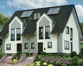 Einfamilienhaus (Neubau DHH)
