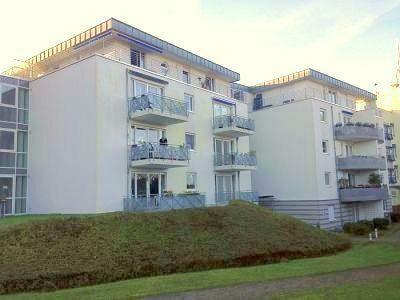 Bad Godesberg, Seniorenwohnanlage, 2 Zimmer Seniorenwohnung mit Balkon und Blick zum Siebengebirge