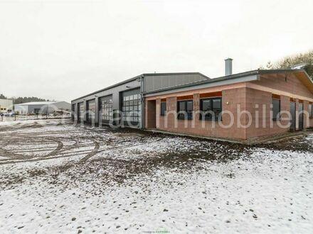 Neubau-Gewerbehalle bei Autobahn Conrad Immobilien