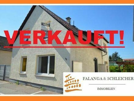 BUDENHEIM - 1-2-Familienhaus mit herrlichem Sonnengrundstück in prima Ortskernlage!