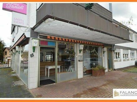 MOMBACH - Geräumiger Eckladen mit großen Fenster in guter frequentierter Geschäftslage