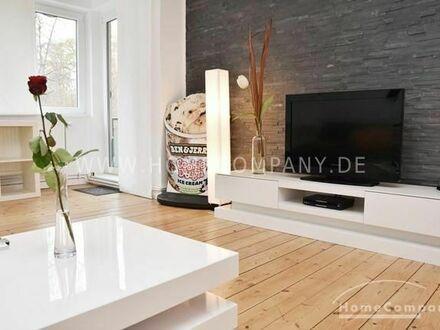 Kleefeld, Modern möblierte Wohnung mit Balkon an der Eilenriede