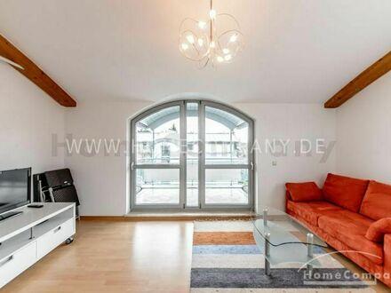 Helle möblierte 2-Zimmer-Wohnung mit Balkon in München-Obermenzing