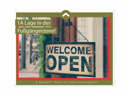 """1A Lage in der Fußgängerzone """"Brandenburger Straße"""""""