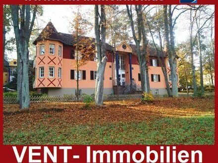 Attraktive Eigentumswohnung in Bad Saarow mit unverbautem Blick auf die Natur.