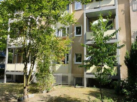 Sympathische Wohnung in ruhiger Lage mit Süd-West-Balkon, Gartennutzung und Pkw-Stellplatz