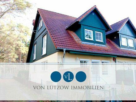Traumhaus mit eigenem Seezugang - Doppelhaushälfte 110qm l 4 Zimmer l Ruhe pur - eigener Steg l EBK