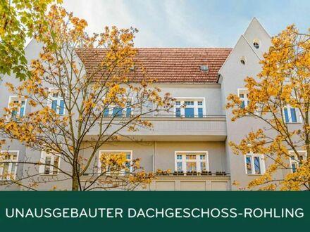 Dachgeschossrohling mit Baugenehmigung: 2 Wohneinheiten & insgesamt ca. 247 m² realisierbar