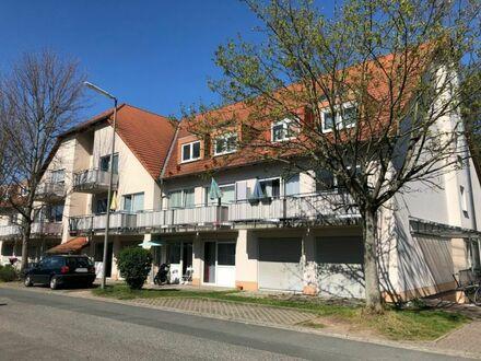 Vermietete, zentral und ruhig gelegene 1-Zimmer-Wohnung mit Terrasse in Erlangen-Eltersdorf