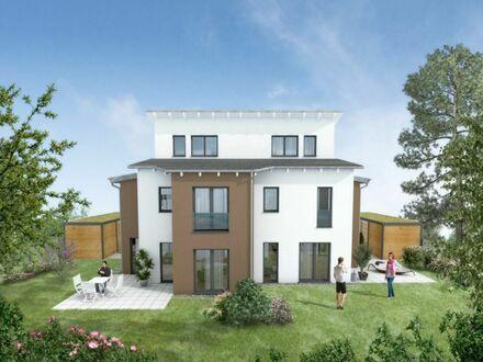 Neu entstehende Doppelhaushälfte in Berlin Buckow