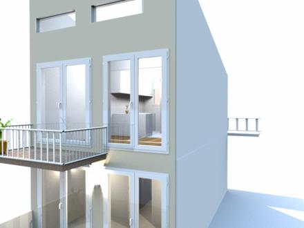 3 Zimmer Maisonettwohnung mit Terrasse und Balkon