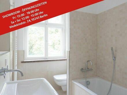 Geräumig geschnittene 2-Zimmer-Wohnung in Friedrichshain: ca. 68 m² groß, sofort bezugsfrei!