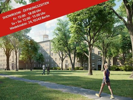 BEZUGSFREI: Eigentumswohnung in Friedrichshain, 2 Zimmer, ca. 60 m² - optimal für Singles & Paare!