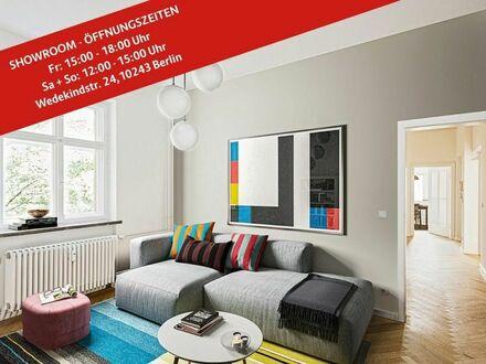 Ideal für Singles und Paare: Bezugsfreie 2-Zimmer-Wohnung in Friedrichshain, ca. 51 m²