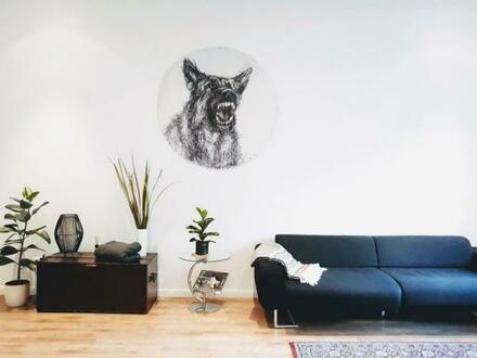 Makellos renovierte Drei-Zimmer-Altbauwohnung im Graefekiez