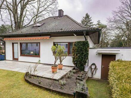 Sehr gepflegtes Einfamilienhaus am nördlichen Berliner Stadtrand - Kapitalanlage