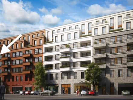 Erstbezug! 1-Zimmer-Wohnung in zentraler Lage in Berlin-Mitte