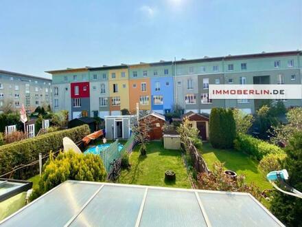 IMMOBERLIN.DE - Komfortables Reihenhaus mit Südwestgarten in sehr familienfreundlicher Lage