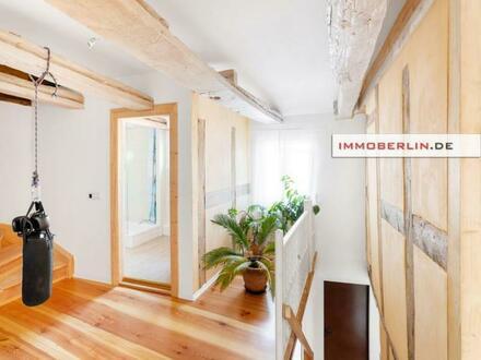 IMMOBERLIN.DE - Stilvoll saniertes Einfamilienhaus & großer Garten am Stadtrand