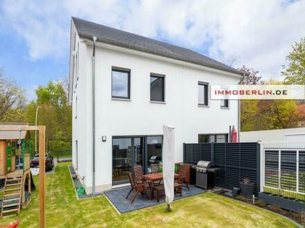 IMMOBERLIN. DE - Neuwertiges Einfamilienhaus mit Südwestgarten beim Tegeler Forst