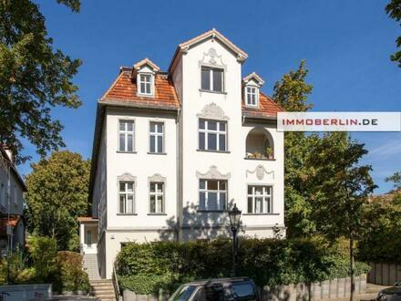 IMMOBERLIN.DE - Schöne sanierte Wohnung mit Terrasse in herrlicher Lage