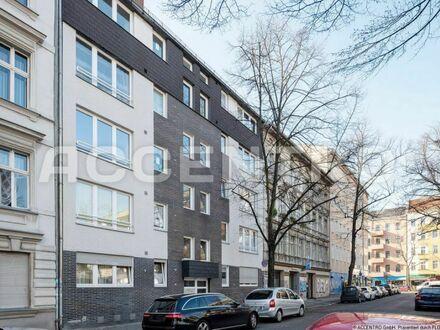 Investment im gefragten Neukölln: Vermietete 3-Zimmer-Wohnung mit Südterrasse zum Garten