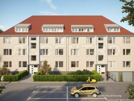 Kapital anlegen im grünen Köln-Poll: vermietete 2,5-Zimmerwohnung mit Balkon