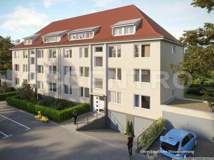 Citynah mit Zukunftsaussicht: 2,5 Zimmer, Balkon und Gartenblick, vermietet