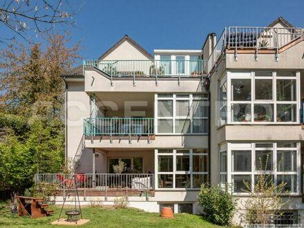 Bezugsfreie, wunderschöne Maisonette mit Wintergarten in Top-Lage in Wannsee