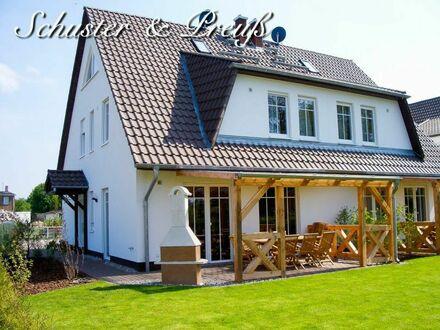 Schuster & Preuß - Trauminsel Usedom Zinnowitz 2019 - neuwertige Haushälfte mit 6 Zimmern, 2 Bädern, Fussbodenheizung, Erdwärme,…