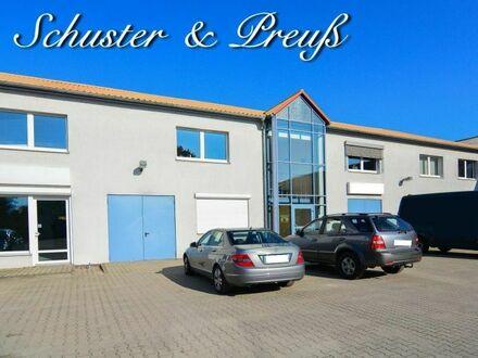Schuster & Preuß - Bernau - Gewerbe und Wohnen im eigenen modernen Gebäude, 720 m² Nutzfläche, fast voll vermietet, komplett…