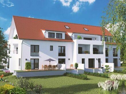 Ihre Neubauwohnung mit eigenem Garten und Terrasse mit Südausrichtung