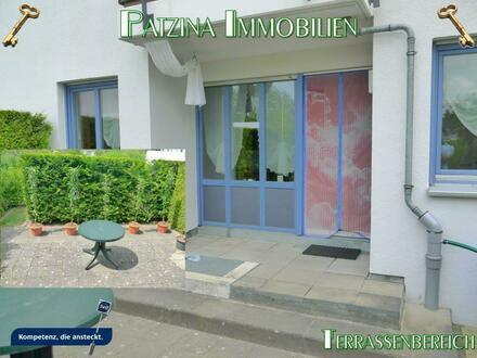 Kleines 1-Zimmerappartment mit großem Gartenanteil und Terrasse sowie TG-Stellplatz