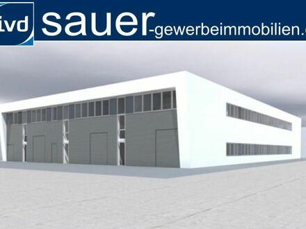 748 - 2.500 m² Neubau Gewerbehof mit Hallen und Büros ab Ende 2018