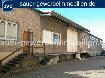 875 m² Rampenlager inkl. Lagerkeller mit Lastenfahrstuhl nahe Autobahn!