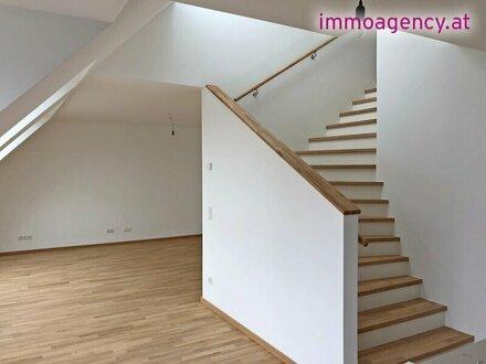 3-Zimmer ERSTBEZUG DG-Maisonette mit Terrassen!