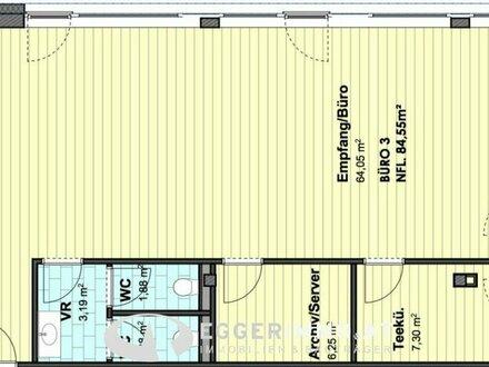 Neubau G7 Gewerbepark: Moderne Bürofläche in Kaprun zu verkaufen