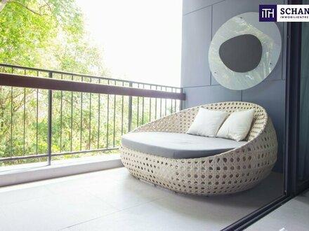 GRANDIOS: Preiswerte 2-Zimmer Wohnung in FERTIGSTELLUNG + Balkon + Tiefgarage. Erstbezug. Provisionsfrei.