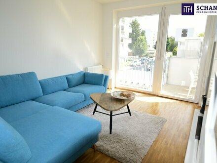 PROVISIONSFREI: Moderne, neuwertige 2-Zimmer Wohnung im 1. OG + Balkon + Tiefgarage! Baujahr 2017! Anschauen lohnt sich…