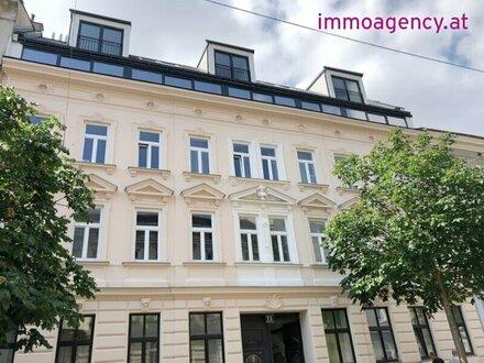 Kurzzeitvermietung möglich!! sanierte 2-Zimmer Altbau-Whg. mit Hofterrasse, Erdgeschoss