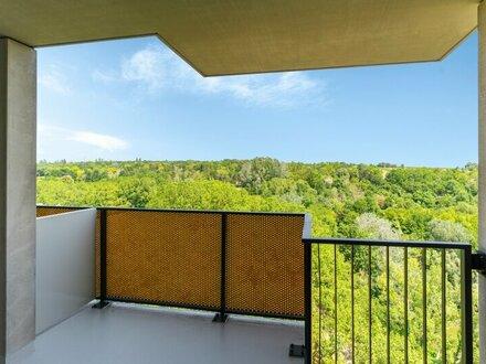 Top 06 Balkonwohnung mit Blick auf Kurpark Oberlaa - Erstbezug!