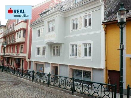 Dachgeschoß-Maisonette im Zentrum von Mariazell mit 12 m² Balkon