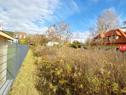 Ebenes Baugrundstück in schöner Grünruhelage am Fuße des Bisamberg